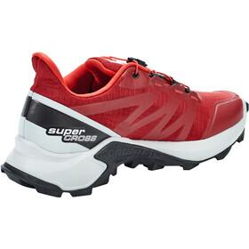 Salomon Supercross Zapatillas Hombre, rojo